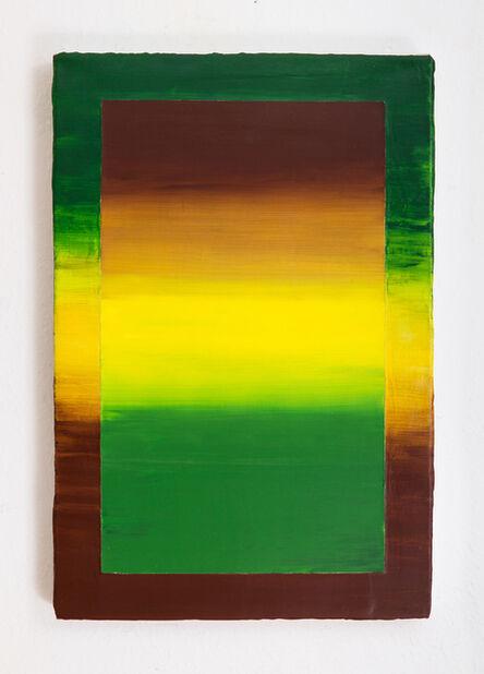 Bruno Novelli (a.k.a. Bruno 9li), 'Céu de Ouro', 2021