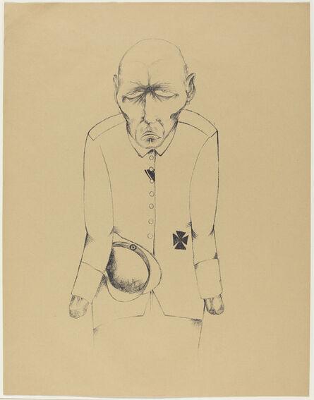 Heinrich Hoerle, 'Der Erwerbslose (The Unemployed Man)', 1920