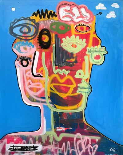 Clarence James, 'Eye (i) Cloud', 2021