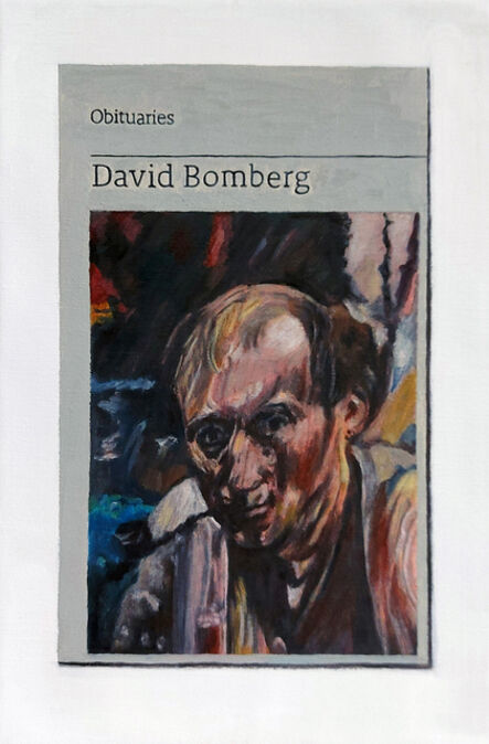 Hugh Mendes, 'Obituary: David Bomberg', 2018