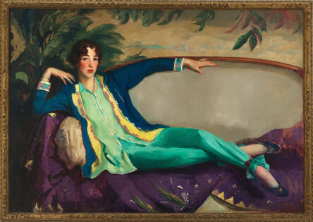 Robert Henri, 'Gertrude Vanderbilt Whitney', 1916