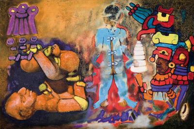 Aubrey Williams, 'Maya Ritual V,(Olmec Maya series)', 1984