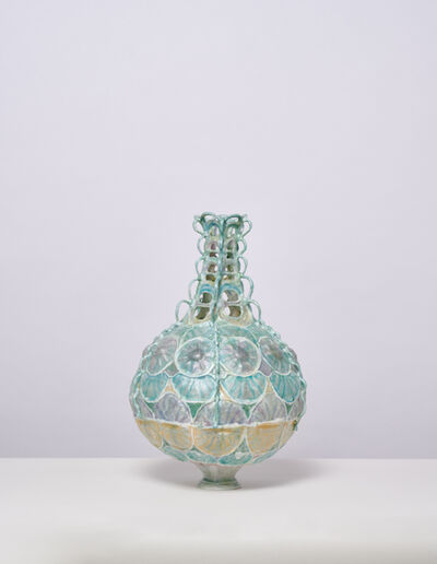 Shari Mendelson, 'Round Vessel with Rosettes', 2019