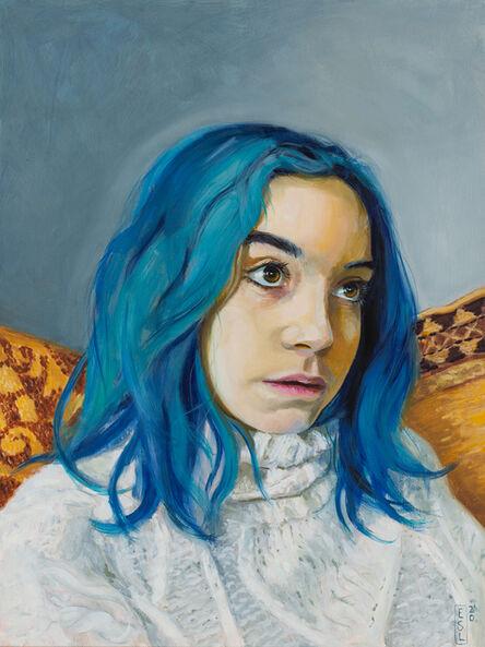 Ellen Starr Lyon, 'Blue Cloak', 2020
