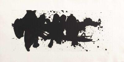 Robert Motherwell, 'Running Elegy', 1983