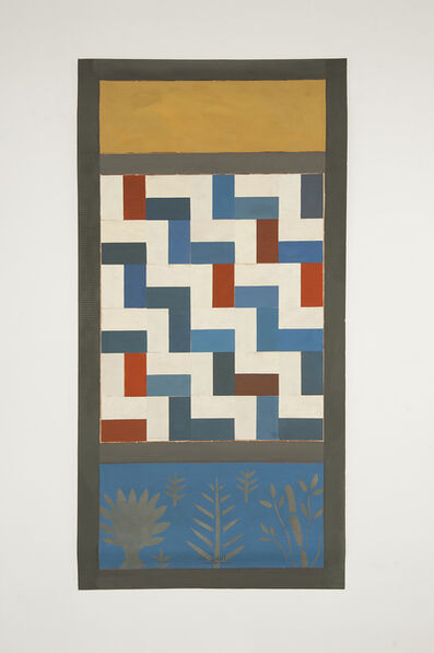 Chant Avedissian, 'P6 - Persian tiles with plants', 2016