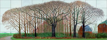 David Hockney, 'Bigger trees near Warter or/ou Peinture sur le motif pour le nouvel age post-photographique', 2007