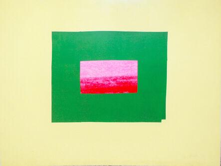 Howard Hodgkin, 'Indian Views – Plate I', 1971