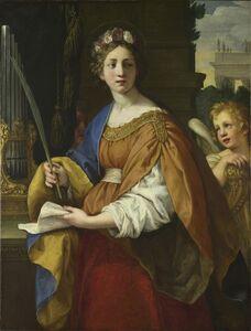 Pietro Berrettini, called Pietro da Cortona, 'Saint Cecilia', 1620-1625