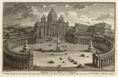 Giuseppe Vasi, 'Basilica di S. Pietro in Vaticano', 1747