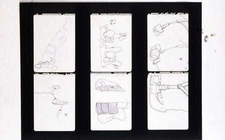 Antoni Miralda, 'Cuaderno Castillejos #1', 1965