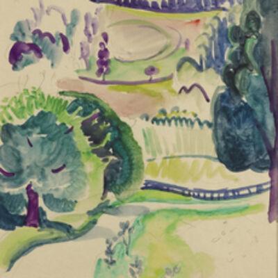 William Zorach, 'Landscape', 1913