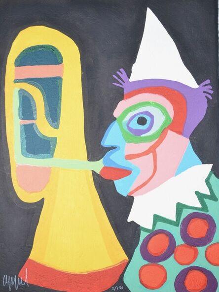 Karel Appel, 'Amsterdam clown', 1978
