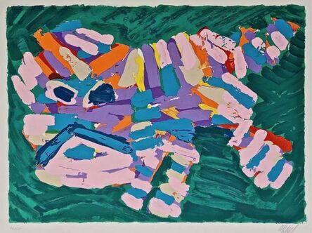 Karel Appel, 'Stalking Cat', 1980