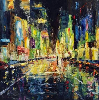 Elena Bond, 'City Night Lights', N/A