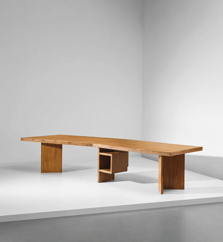 Le Corbusier, 'Important and rare demountable Minister's desk, model no. LC-TAT-07-A, designed for the High Court and the Secrétariat, Chandigarh', 1955-1959