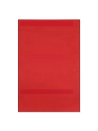 Jeff Kellar, 'Lined Space Red', 2020