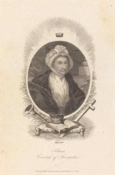 Henry Meyer after John Hoppner, 'Selina, Countess of Huntindon', 1815