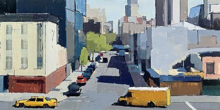 Lisa Breslow, 'Highline Looking East 2', 2021