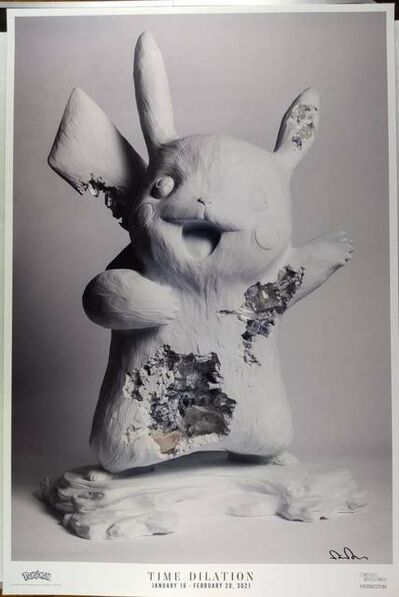 Daniel Arsham, 'Daniel Arsham x Pokemon TIME DILATION Art Poster', 2021