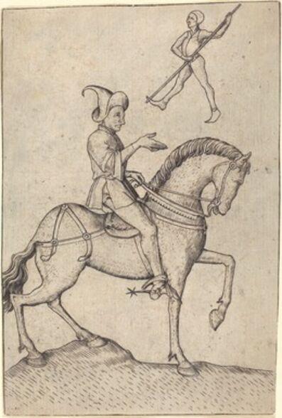 Master E.S., 'The Knight of Men', 1463