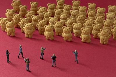 Christopher Boffoli, 'Cookie bear ambush', 2011/2012
