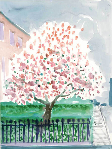 David Hockney, 'Magnolia Edwards Square', 2002
