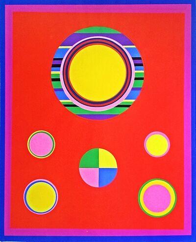 John Grillo, 'Untitled Op Art Mid Century Modern', 1969