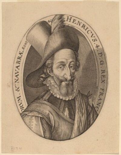 Hendrik Goltzius, 'Henry IV', 1592