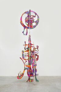 Aaron Curry, 'Vertical wood sculpture', 2013