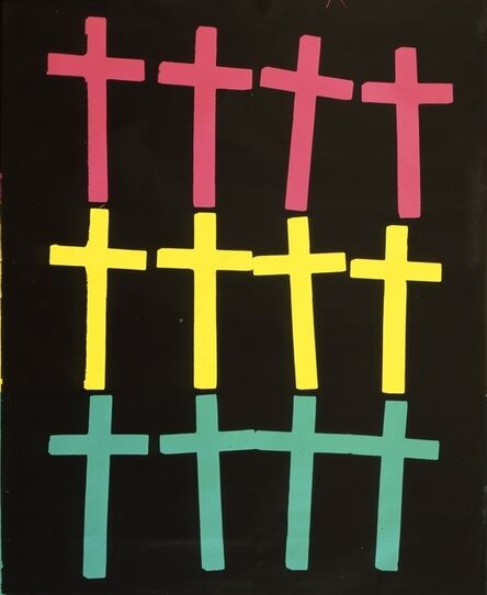 Andy Warhol, 'Crosses', 1982