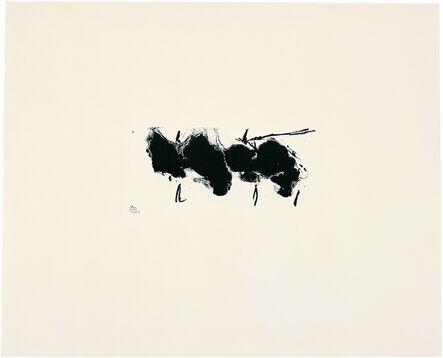 Robert Motherwell, 'Altamira Elegy', 1980