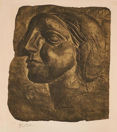 Pablo Picasso, 'Tête de Femme (Marie-Thérèse)', 1958