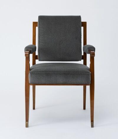 Maison Leleu, 'Set of Eight Armchairs', 1957