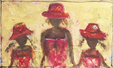 John Maitland, '3 Red Hats ', 2014