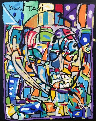 Matthew Clarke, 'Yellow taxi, I want to go to New York. Self portrait. ', 2015