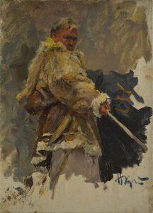 Nikolay Pavlovich Khristolyubov, 'Sketch', 1954