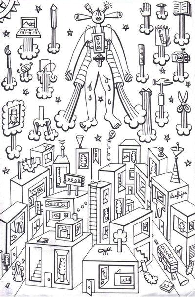 Fi Lee, 'Drawing 3', 2015