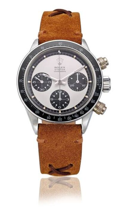 Rolex, 'Stainless steel Paul Newman Daytona, ref. 6263, screw-down pushers'