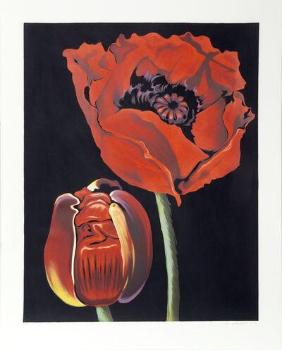 Lowell Nesbitt, 'Red Poppies', 1979
