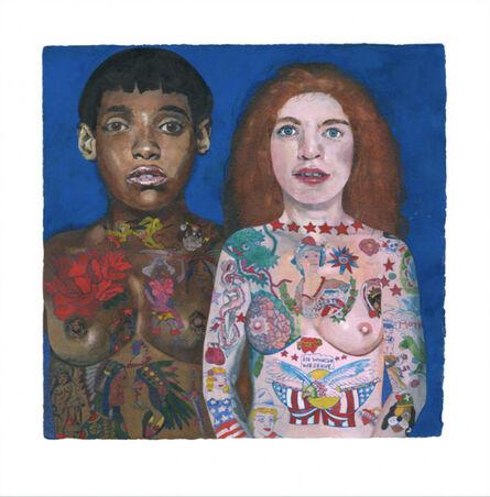 Peter Blake, 'Tattooed Ladies ', 2018