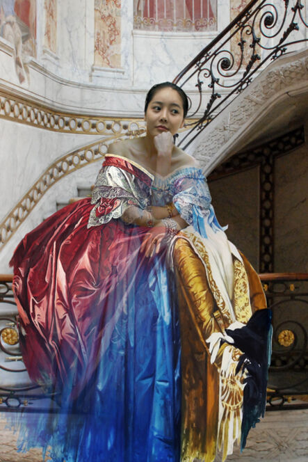 Bae Joon Sung, 'The Costume of painter- Ingres handrail hy 2', 2012