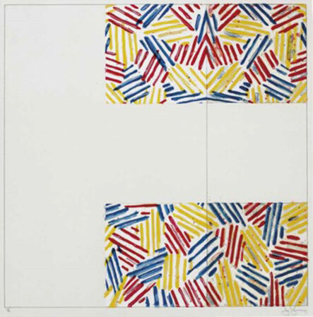 """Jasper Johns, '#2 (after """"UNTITLED 1975"""")', 1976"""
