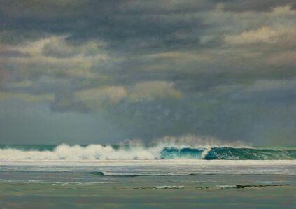 Jeff Aeling, 'Water Breaking on the Reef', 2018