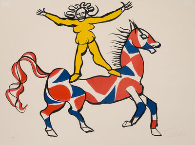 Alexander Calder, 'Circus Rider'