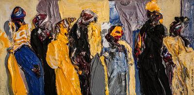 Ahmad Moualla, 'L'attente', 2014