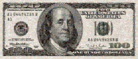 Robert Silvers, '100 Dollar Bill (Medium)', 2003