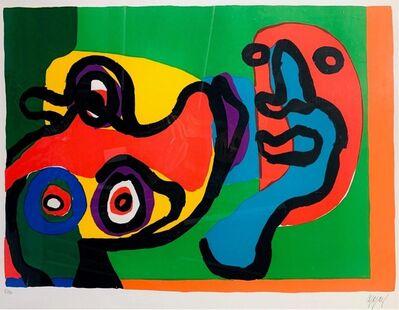 Karel Appel, 'Meeting in the Sun', ca. 1974