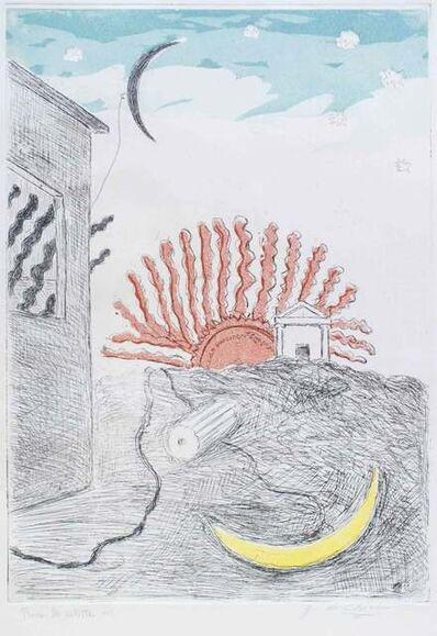 Giorgio de Chirico, 'The Sun and the Moon', 1971