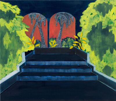 Cara Nahaul, 'Between Two Palms', 2020